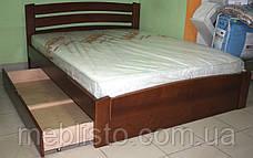Ліжко Венеція Люкс вільха 1.6 на 2м, фото 2