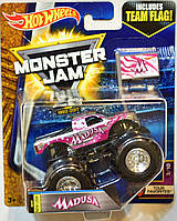 Машинка Hot Wheels Monster Jam 1:64 Madusa with Team Flag