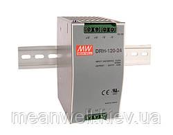 DRH-120-24 Блок питания на Din-рейку 3-х фазный Mean Well 120вт, 24в, 5А