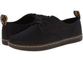 Кроссовки/Кеды (Оригинал) Dr. Martens Callum 3-Eye Shoe Black Canvas