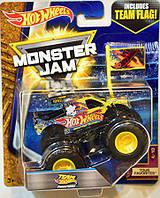 Машинка внедорожник (Монстр-трак)  Hot Wheels Monster Jam 1:64 Team Flag