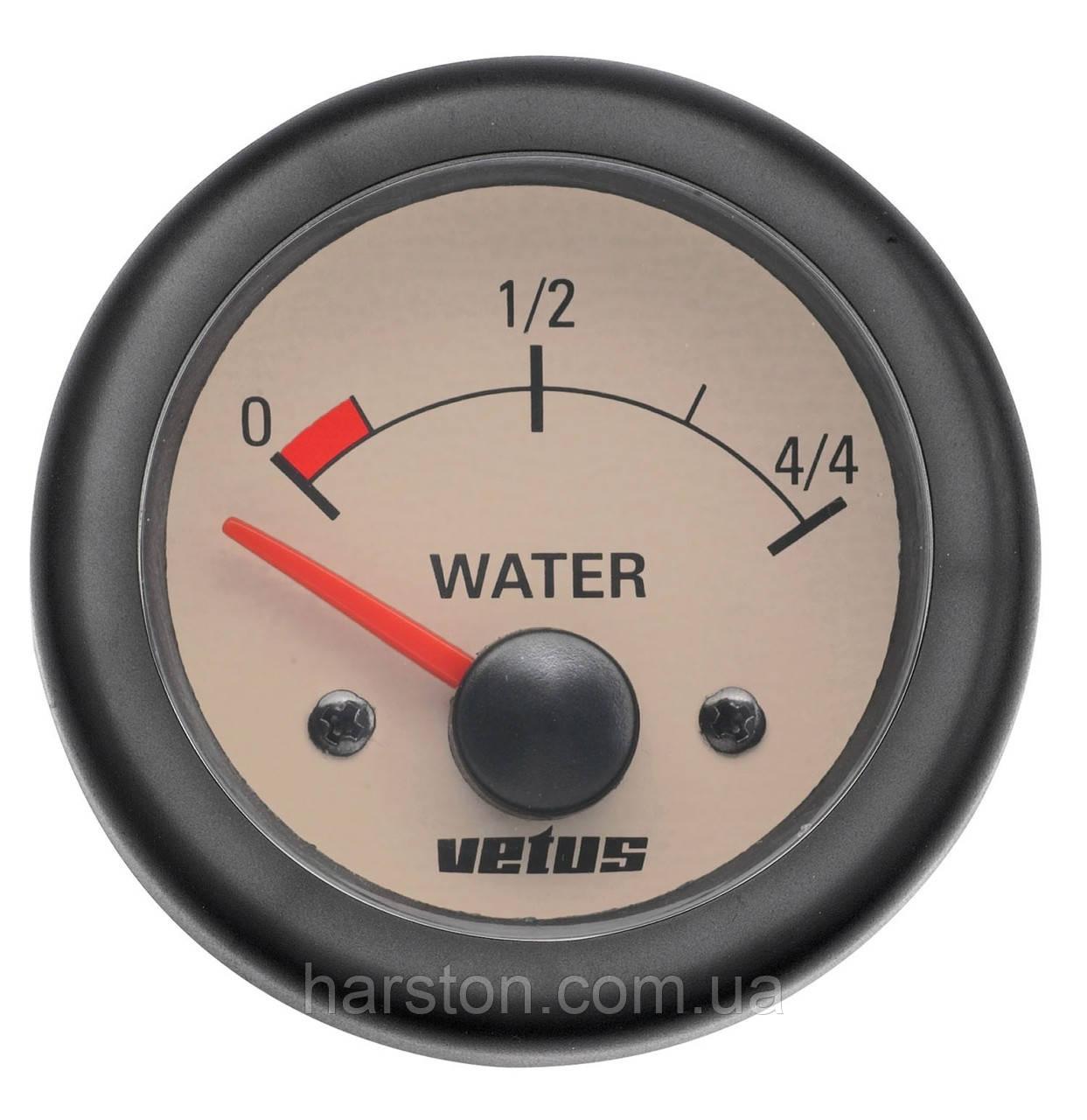 Индикатор воды VETUS WATER12W (WATER24W)