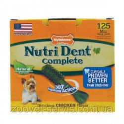 Жевательное лакомство для чистки зубов для собак  Nylabone Nutri Dent, фото 2