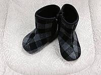 Пінетки-черевики в клітинку, фото 1