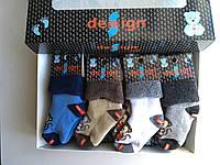 Махровые детские носки Design Socks от 0 до 12 месяцев с рисунком обезьянки