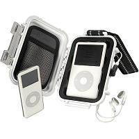 Кейс для защиты iPod с органайзером (в крышке) и разъемом для внешнего подключения наушников.