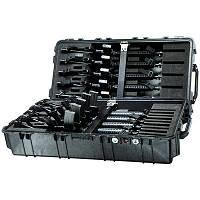 Оружейный кейс с секциями для хранения и транспортировки 10-12 винтовок.