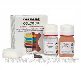 Краситель для гладкой кожи и текстиля + очиститель Tarrago Color Dye 25мл+25мл цвет антилопа (03)