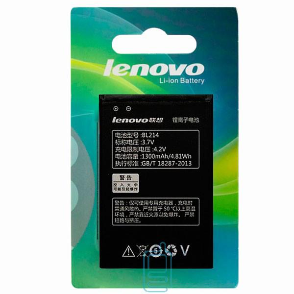 Аккумулятор Lenovo BL214 1500 mAh A269, A300T, A316, A369 AAA класс блистер