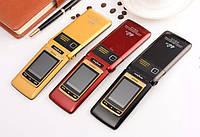 Раскладной телефон Tkexun F666 на 2 сим металлический корпус