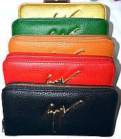 Женские брендовые кошельки из искусственной кожи с ремешком на руку 19*10, фото 1