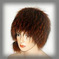 Меховая шапка из енота (рыжая кубанка), фото 1