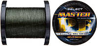 Шнур Select Master PE 1000m 0.18мм 21кг темн.-зел. (1870.01.90)