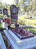 Пам'ятники одинарні з фундаментом крошка