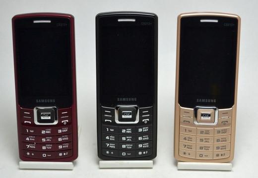 """Мобильный телефон Самсунг С5212 на 2 сим-карты Большой экран 2,8"""""""
