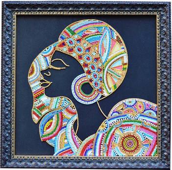 Наборы для вышивки бисером и декоративными элементами ТМ Миледи