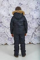 Костюм зимний с мехом для мальчика, фото 3