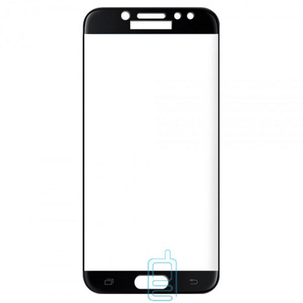 Защитное стекло 5D Samsung J7 2017 J730 black тех.пакет