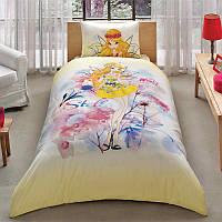 Постельное белье Tac Disney Winx Stella Water Colour 160*220 подростковое