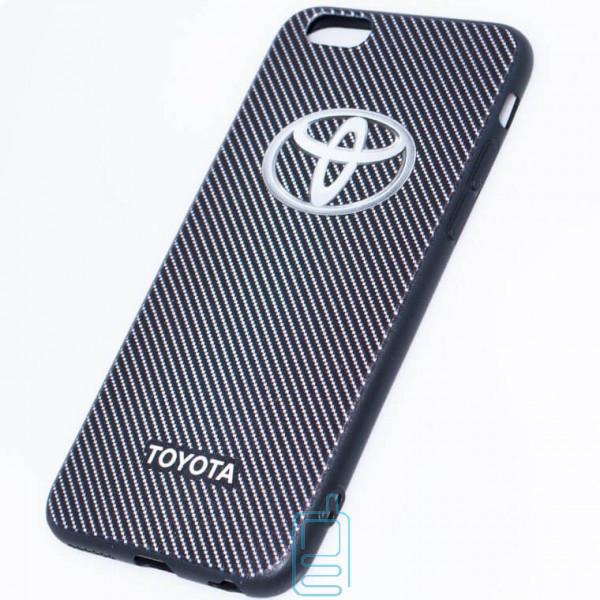Чехол силиконовый Apple iPhone 6 logo TOYOTA