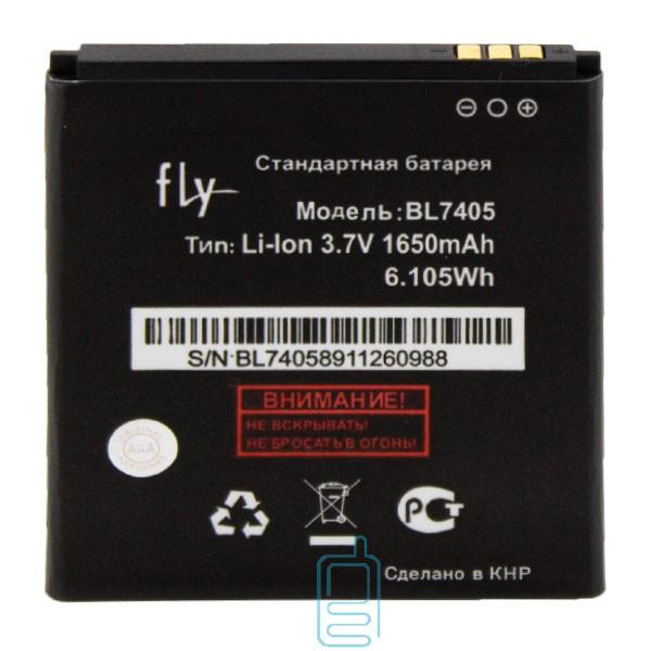 Аккумулятор Fly BL7405 1650 mAh IQ449 AAA класс тех.пакет