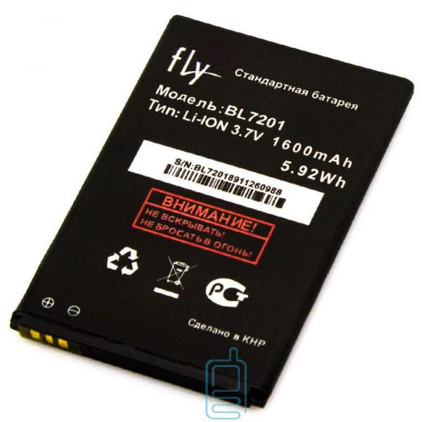 Аккумулятор Fly BL7201 1600 mAh IQ445 AAA класс тех.пакет