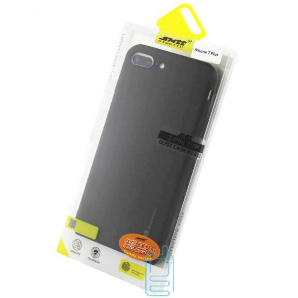 Чехол силиконовый SMTT Apple iPhone 7 Plus, 8 Plus черный
