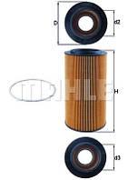 Фильтр масляный вставка DAF XF95 MAHLE