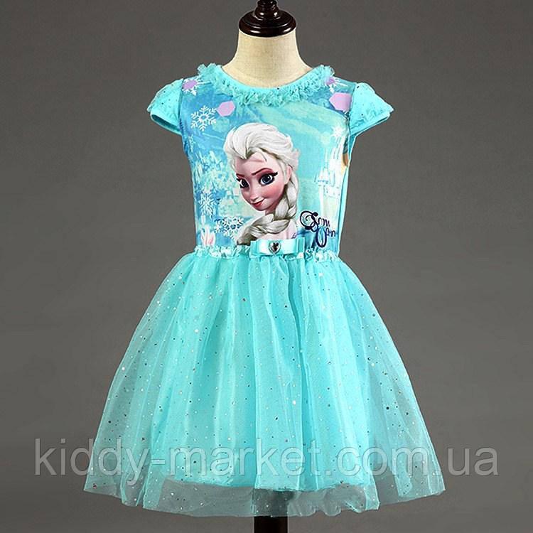 Платье  для девочки  Фрозен, Холодное Сердце