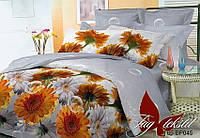 Постельное белье полуторное поликоттон Цветы,магазин постельного