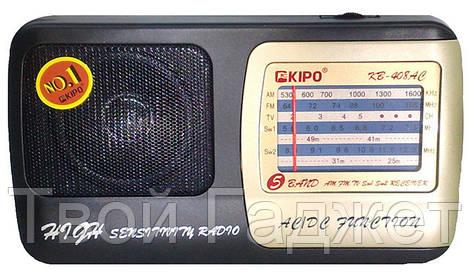 ОПТ/Розница Радиоприемник от сети аналоговый KIPO KB-408AC оригинал
