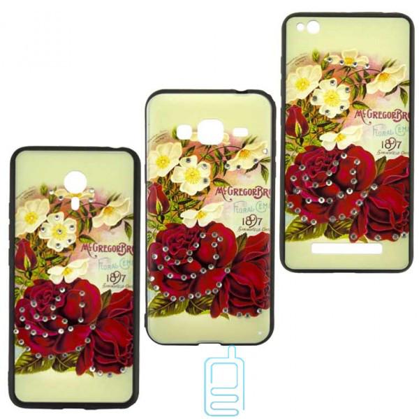 Чехол накладка Flower Case Meizu M5 Note Mc. Gregor Rose