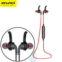 Bluetooth наушники с микрофоном AWEI A960BL Red