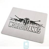 Коврик для мышки World of Tanks White 250x290