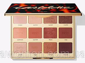 Палітра тіней Tarte toasted eyeshadow palette (12 кольорів)