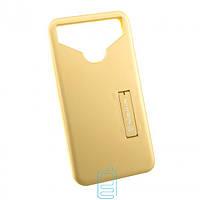 Универсальный чехол-накладка Nillkin Soft Touch 4.0-4.5″ золотистый