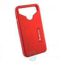 Универсальный чехол-накладка Nillkin Soft Touch 4.0-4.5″ красный