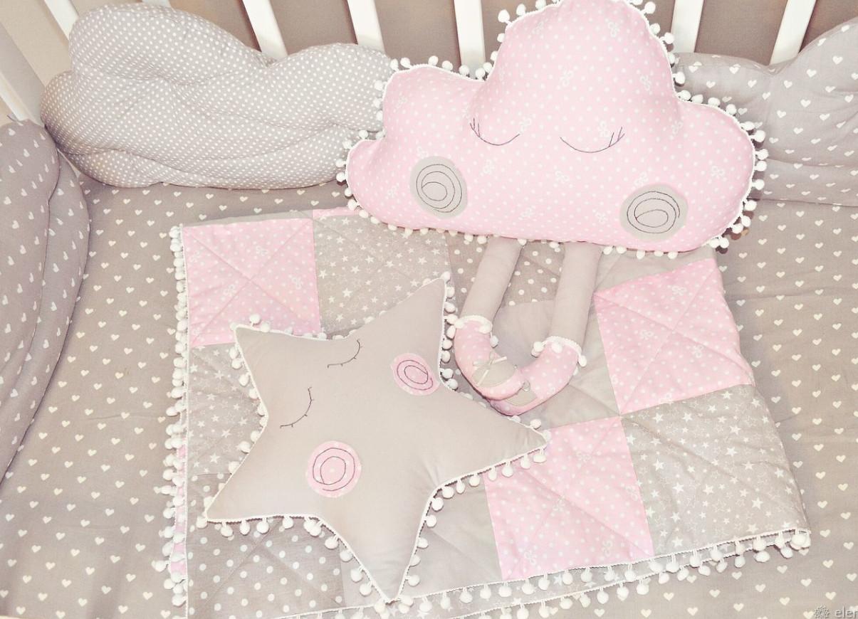Дитяче ковдру тонке і 2 іграшки. Подарунковий комплект для новонародженого.