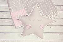 Детское одеялко тонкое и 2 игрушки. Подарочный комплект для новорожденного., фото 2