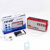 Радиоприемник NNS NS-001BT красный