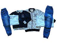 Трикотажные  костюмы-тройка для мальчиков оптом, Buddy Boy, размеры 3/4-7/8  арт. 5575, фото 1
