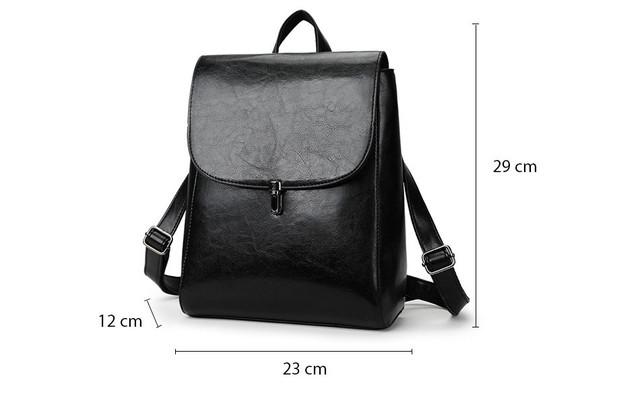 186b6de74caa Рюкзак сумка (трансформер) городской женский из экокожи (черный ...