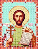 Атлас с нанесенным рисунком «Св. благоверный князь Александр Невский»