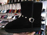 41 42 43 р UGG Натуральный замш угги мужские женские уги ботинки черны
