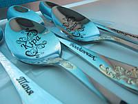 Подарок на выпускной в садик девочкам и мальчикам сувенир воспитателю именная ложка с надписями