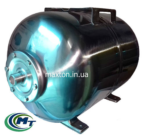 Бак EUROAQUA из нержавеющей стали на объем 50 л с мембраной внутри срок эксплуатации не ограничен, фото 2