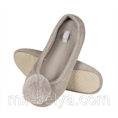 Тапочки домашние женские тапки SOXO балетки