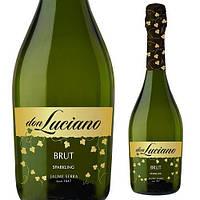 Вино игристое Don Luciano Charmat Brut (Дон Лучиано), 0,75 л