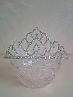 Корона, диадема для конкурса, высота 5 см.
