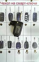 Чехол выкидного ключа и кнопочного, кожа